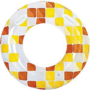 Boia Inflável Redonda Mosaico 120Cm. Jilong