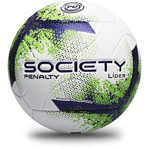 Bola De Futebol Society Lider Xxi Bc/rx/vd Penalty