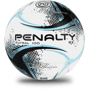 Bola De Futsal Rx 100 Xxi Bc/pt/az Penalty