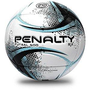 Bola De Futsal Rx 500 Xxi Bc/pt/az Penalty