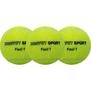 Bola De Tenis Amarela C/3 Prime Health