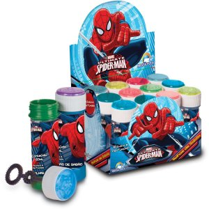 Bolha De Sabão Spider-Man 60Ml C/jogo Brasilflex