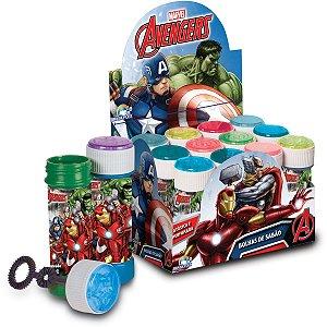 Bolha De Sabão The Avengers 60Ml C/jogo Brasilflex