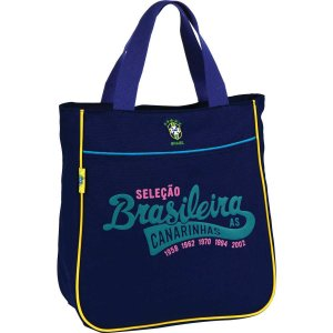 Bolsa Shopping Bag/tote Selecao Canarinho Md 1Bolso So Luxcel