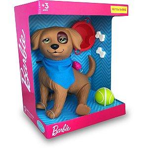 Boneca Barbie Brincadeiras Pet Rookie Pupee Brinquedos