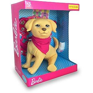Boneca Barbie Veterinaria Taff Pupee Brinquedos