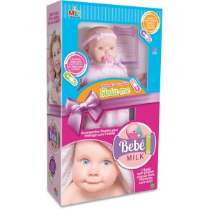 Boneca Bebê Milk 48Cm Milk