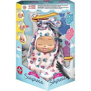 Boneca Bebê Surpresa Estrela