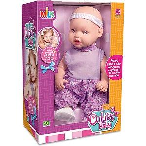 Boneca Cuties Baby 33Cm. Milk