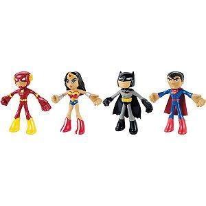 Boneco E Personagem Dc.comics Fig Flexíveis 19Cm Mattel