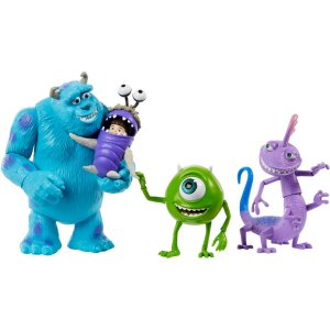 Boneco E Personagem Disney Pixar Monsters Pct.c/04 Mattel