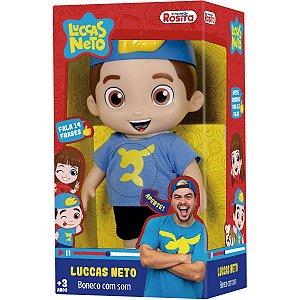 Boneco E Personagem Luccas Neto 14 Frases 27Cm. Baby Brink