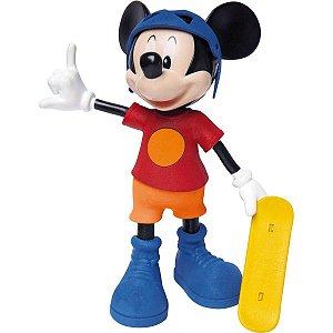 Boneco E Personagem Mickey Radical C/som 31Cm. Elka