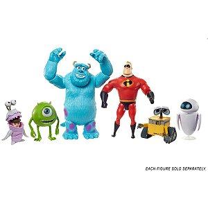 Boneco E Personagem Pixar Figuras Em Acao Sort. Mattel