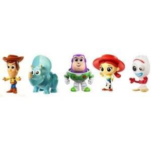 Boneco E Personagem Toy Story 4 Mini Fig. Novo Sor Mattel