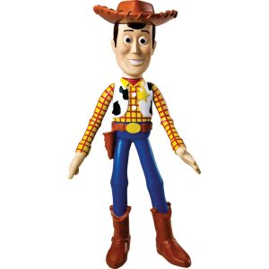 Boneco E Personagem Toy Story Woody Vinil 19Cm Lider