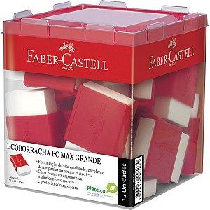 Borracha Branca Fc Max Grande Capa Plast.vm Faber-Castell