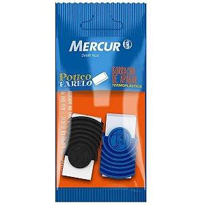 Borracha Branca Tr 18 Preta E Azul Mercur