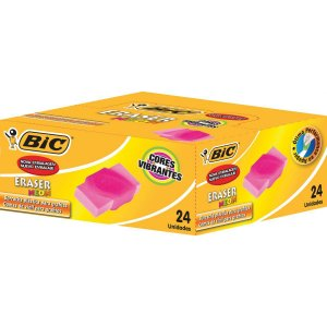 Borracha Colorida Eraser Neon Sortidas Bic