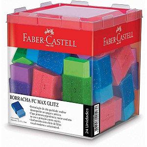 Borracha Colorida Fc Max Glitz 6 Cores Sortida Faber-Castell