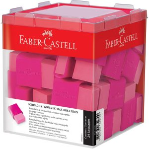 Borracha Colorida Fc Max Rosa Faber-Castell
