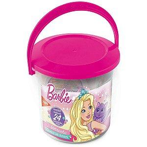 Borracha Decorada Barbie Plástica Top Summit