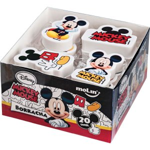 Borracha Decorada Mickey Sortidas Molin