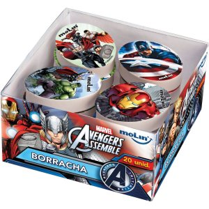 Borracha Decorada The Avengers Sortidas Molin