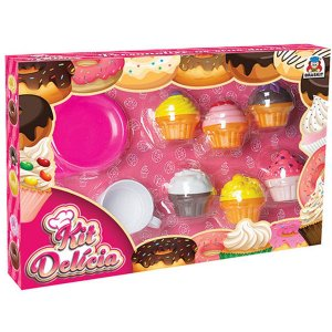 Brincando De Casinha Kit Delicia Cupcake Braskit