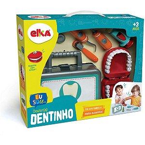 Brincando De Profissões Dr. Dentinho C/Acessórios Elka