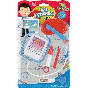 Brincando De Profissões Kit Medico 7Pcs Art Brink