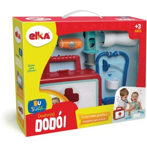 Brincando De Profissões Kit Medico Dr.dodoi Elka
