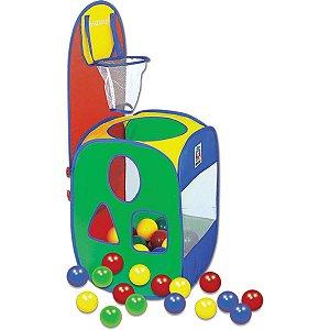 Brinquedo Diverso Basket Ball Game C/60 Bolinhas Braskit