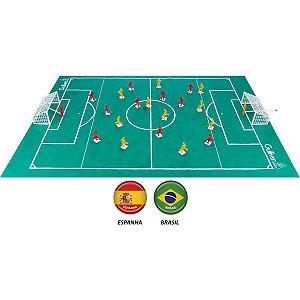 Brinquedo Diverso Futebol Clube Brasilxespanha Gulliver