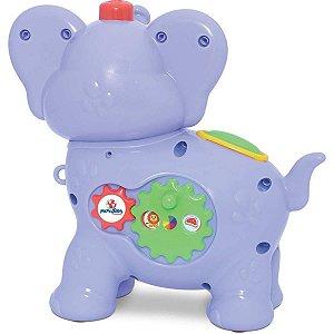 Brinquedo Educativo Amiguinho Comilao Elefante Merco Toys