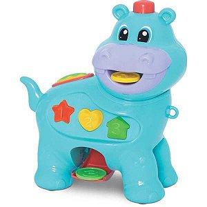 Brinquedo Educativo Amiguinho Comilao Hipopotamo Merco Toys