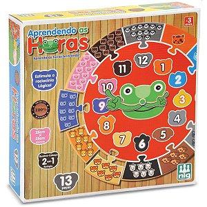 Brinquedo Educativo Aprendendo As Horas Nig Brinquedos