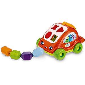 Brinquedo Educativo Baby Carrinho Encaixe De Forma Gulliver