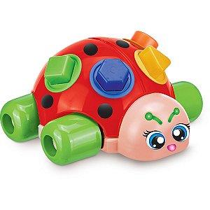 Brinquedo Educativo Baby Joaninha Encaixe De Forma Gulliver