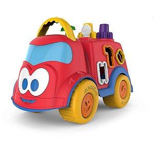 Brinquedo Educativo Baby Land Dino Bombeirinho C/b Cardoso Toys