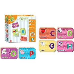 Brinquedo Educativo Be A Ba Descobrindo Alfabeto Brinquedos Nig