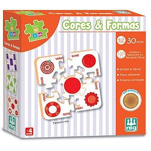Brinquedo Educativo Be E Ba Cores E Formas Nig Brinquedos