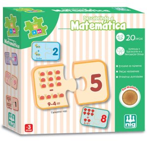 Brinquedo Educativo Be E Ba Descobrindo A Matemati Nig Brinquedos