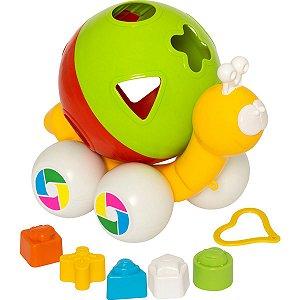 Brinquedo Educativo Caracol C/blocos Merco Toys