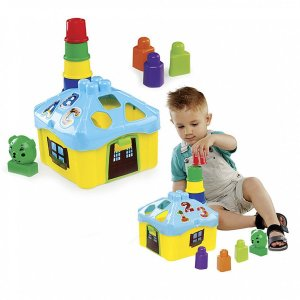 Brinquedo Educativo Casinha De Atividades Dismat