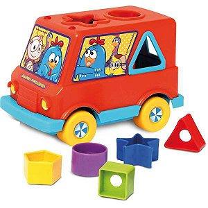 Brinquedo Educativo Galinha Pintadinha Baby Van Elka