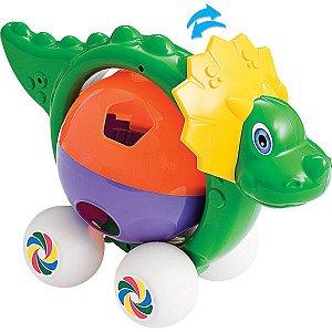 Brinquedo Educativo Mercossauro Didático C/blocos Merco Toys