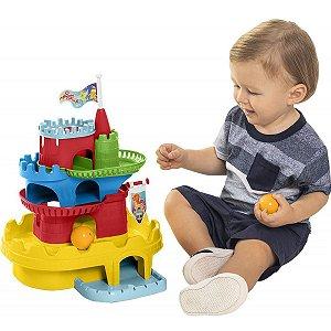 Brinquedo Educativo Monta Castelo C/ Blocos Tateti