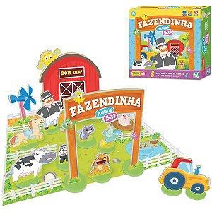 Brinquedo Educativo Mundo Bita Fazendinha Madeira Brinquedos Nig