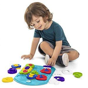 Brinquedo Educativo Puzzle Mania Numeros Tateti